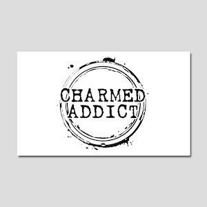 Charmed Addict Car Magnet 20 x 12