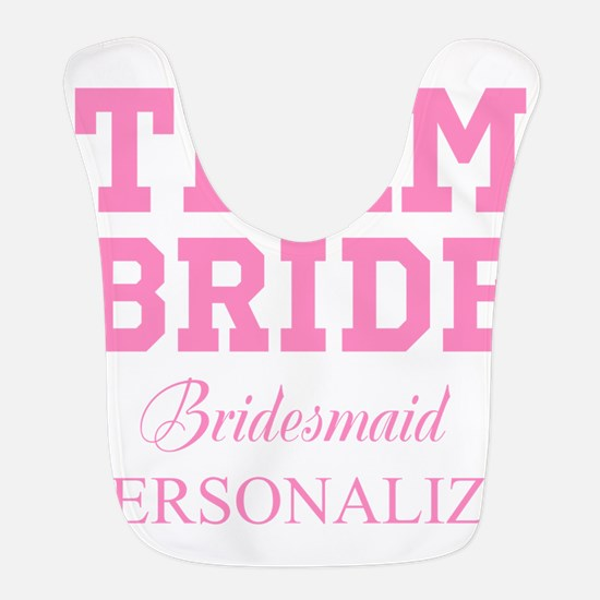 Team Bride | Personalized Wedding Bib