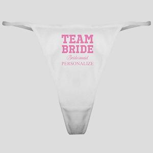 06805fa6b Bridesmaids Thong Panties - CafePress