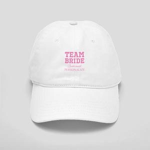 Team Bride   Personalized Wedding Baseball Cap