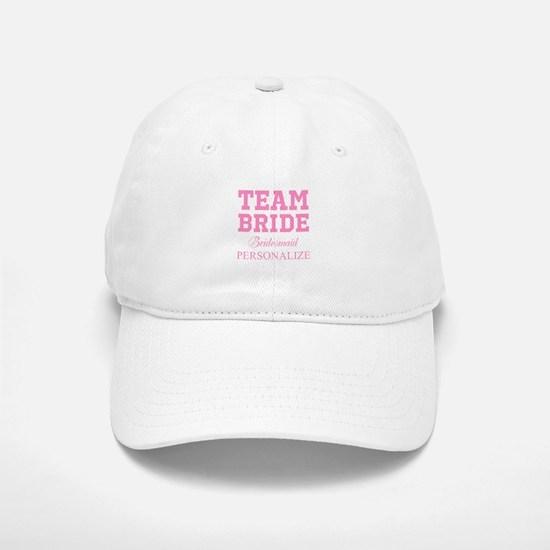 Team Bride | Personalized Wedding Baseball Baseball Baseball Cap