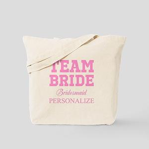 Team Bride | Personalized Wedding Tote Bag