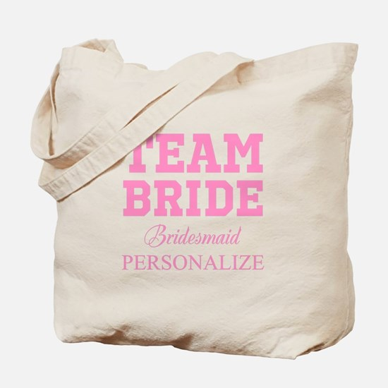 Team Bride | Personalized Wedding Tote Bag