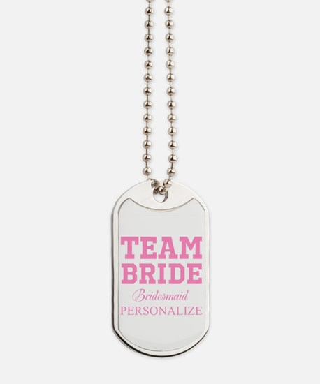 Team Bride | Personalized Wedding Dog Tags