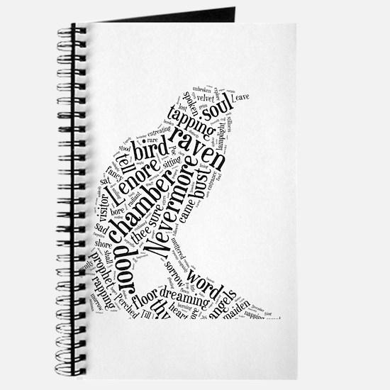 Raven as a Word Cloud Journal