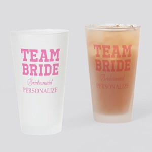 Team Bride | Personalized Wedding Drinking Glass