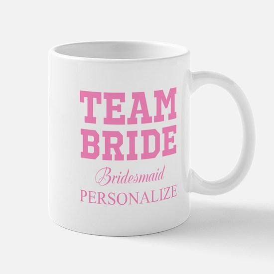 Team Bride | Personalized Wedding Mugs