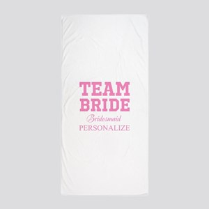 Team Bride | Personalized Wedding Beach Towel
