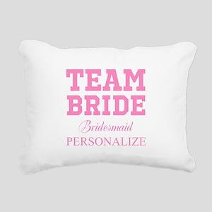 Team Bride | Personalized Wedding Rectangular Canv
