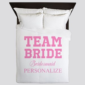 Team Bride | Personalized Wedding Queen Duvet
