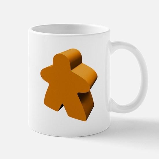 Orange Meeple Mug