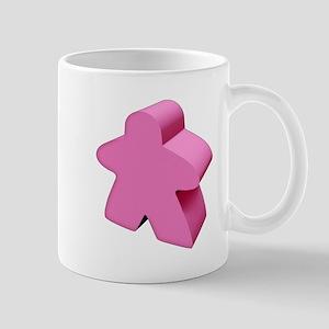 Pink Meeple Mug