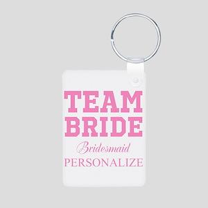 Team Bride | Personalized Wedding Keychains