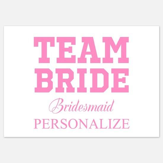 Team Bride | Personalized Wedding Invitations
