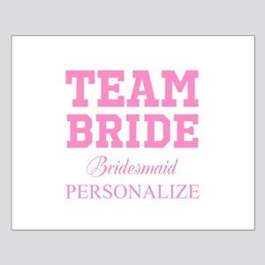 Team Bride | Personalized Wedding Posters