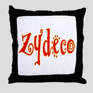 Zydeco Dancer Throw Pillow