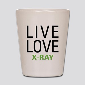 Live Love X-Ray Shot Glass