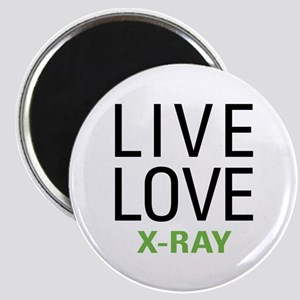 Live Love X-Ray Magnet