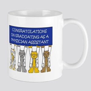 Physician Assistant Graduation Congratulation Mugs