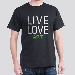 Live Love Art Dark T-Shirt
