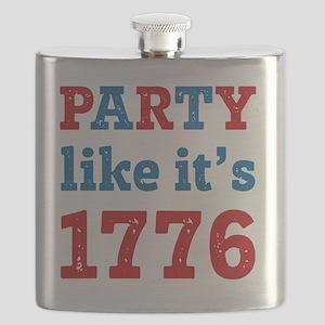 Party Like It's 1776 Flask