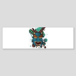 Japanese Demon Bumper Sticker