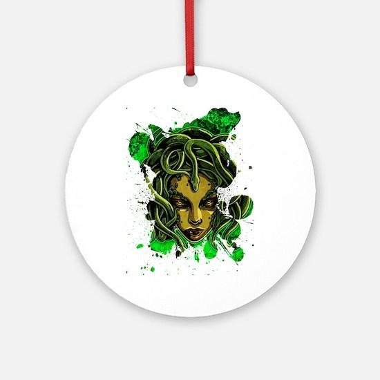 Medusa Ornament (Round)