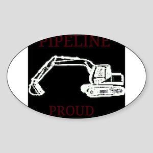 pipeline proud Sticker
