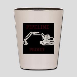 pipeline proud Shot Glass