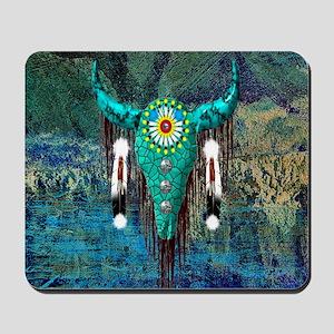 Turquoise Buffalo Mousepad