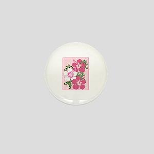 Hibiscus Base Mini Button