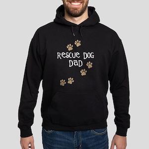 Rescue Dog Dad Hoodie