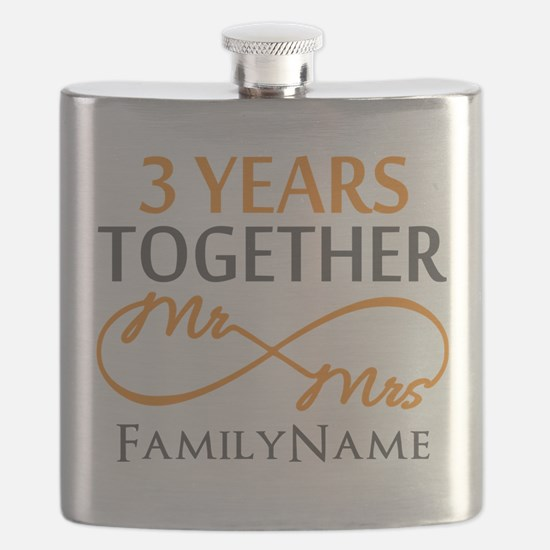 3rd anniversary Flask