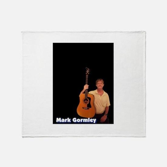 Mark Gormley Guitar Throw Blanket