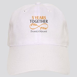 5th wedding anniversary Cap