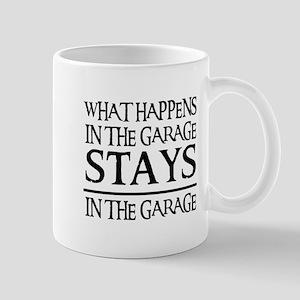 STAYS IN THE GARAGE Mug