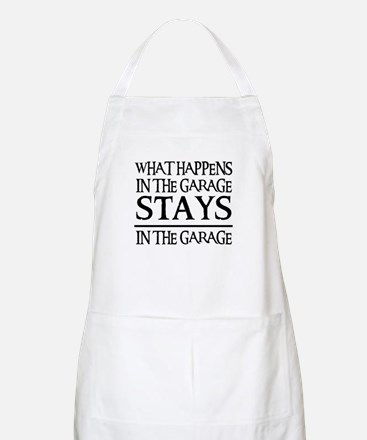 STAYS IN THE GARAGE BBQ Apron