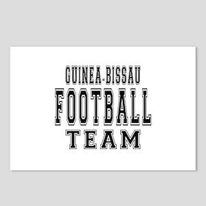 Guinea-Bissau Football Te Postcards (Package of 8)