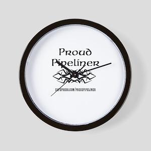 cafepress.com/proudpipeliner Wall Clock
