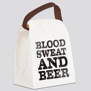 Blood, sweat and beer Canvas Lunch Bag