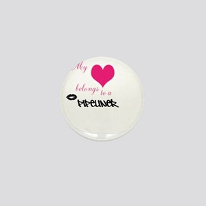 My heart Mini Button