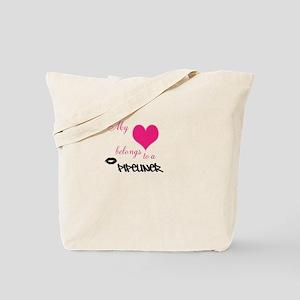 My heart Tote Bag