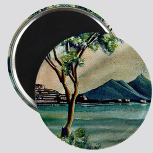 The Bay Of Naples Magnet