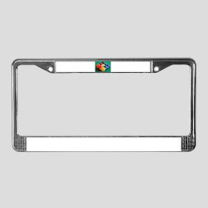 9 Ball Rack License Plate Frame