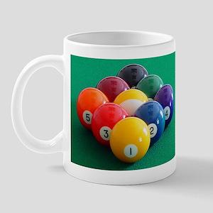 9 Ball Rack Mug
