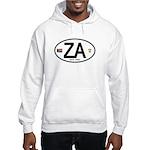 South Africa Euro-style Code Hooded Sweatshirt