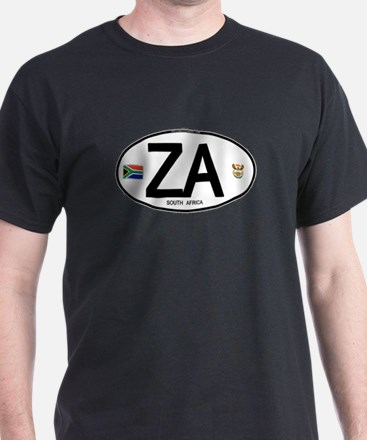 South Africa Euro-style Code T-Shirt