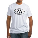 South Africa Euro-style Code Fitted T-Shirt