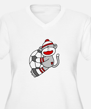 Sock Monkey Soccer T-Shirt