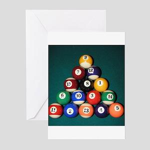 8 Ball Rack Greeting Cards (Pk of 10)
